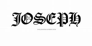 Related Keywords & Suggestions for joseph name tattoo