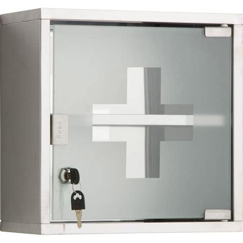boite de rangement cuisine armoire à pharmacie l 30 cm imitation métal roma leroy