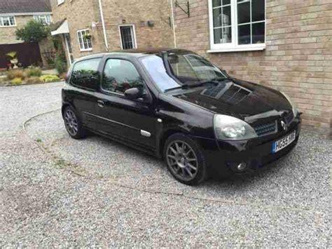 2005 Renault Clio Renaultsport 182 16v Black. Car For Sale