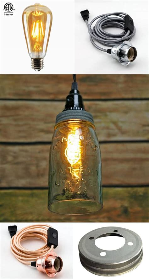 Diy Mason Jar Lights Best Tutorials Kits Supplies