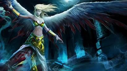 Morgana Fallen Angel League Legends Exiled Skin