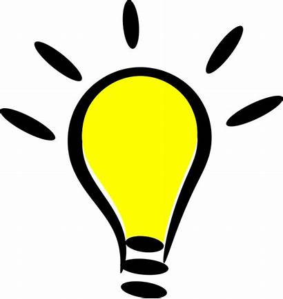 Idea Bright Cartoon Lightbulb