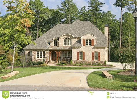 country craftsman house plans large house stock photos image 1362423