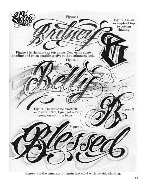 LETTERS TO LIVE BY VOLUME #1 Tattoo Script Lettering Sketchbook Flash Book by Big Sleeps (55