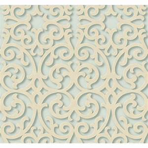 York Wallcoverings Dimensional Effects Fortuna Wallpaper ...