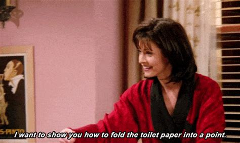 toilet paper joey friends the best cleaning tips we ever learned from monica geller