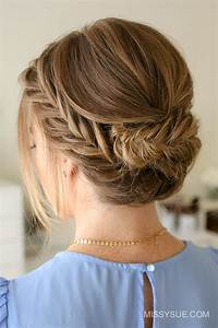 Great Updos For Medium Length Hair Southern Living