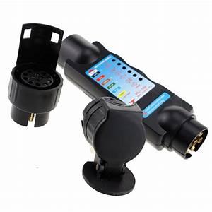 7 Pin  U0026 13 Pin Car Towing Lights Wiring Trailer Circuit