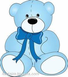 BABY BLUE TEDDY BEAR | CLIP ART - BABY - CLIPART ...