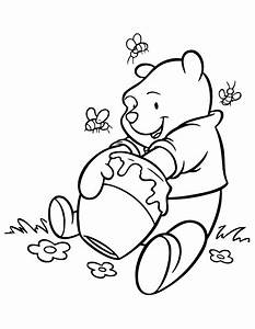 Winnie the pooh coloring pages | Black and white drawings ...