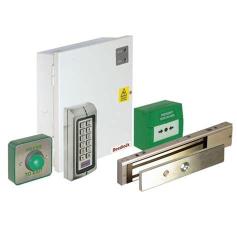 Magnetic Lock Kit For Cabinets by Deedlock Single Door Keypad Proximity Access Kit