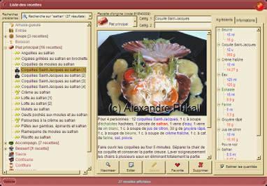 logiciel recette cuisine logiciel recettes cuisine
