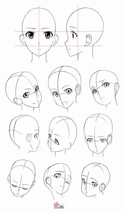 Anatomy Anime Head Drawing Manga Studies Dessin