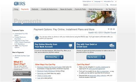 irs payment    irs payment payment options
