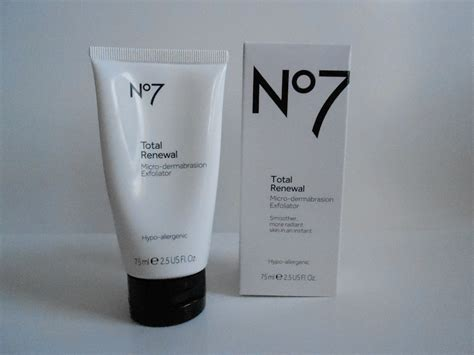 review boots no 7 total renewal scrub tricia