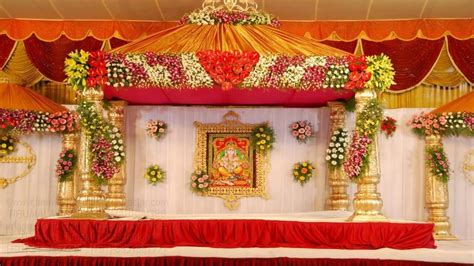 10 wedding stage decoration with flowers YouTube