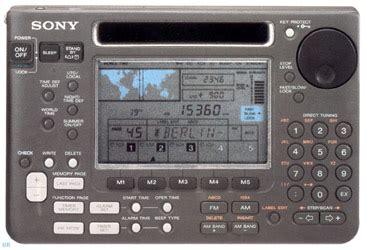 sony icf sw shortwave radio icfsw