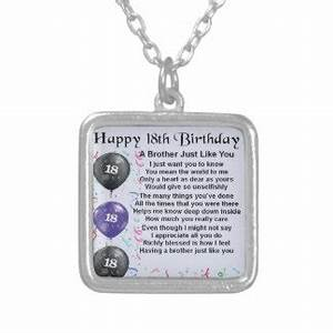 Brothers 18th Birthday Gifts on Zazzle UK