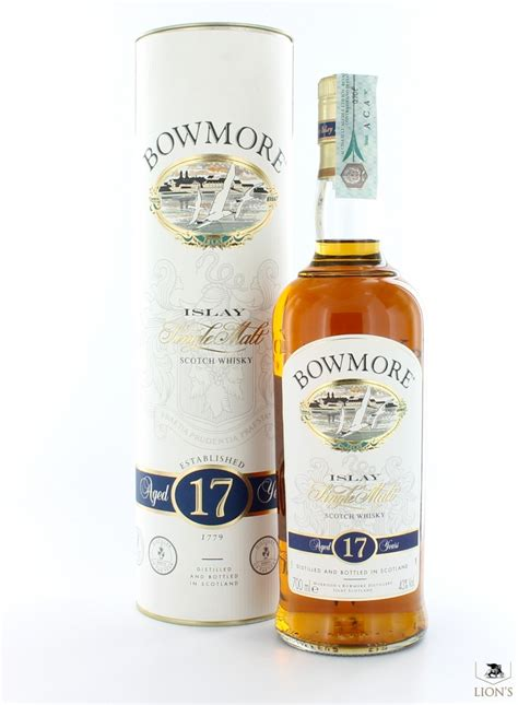 Bowmore Scotch 17 Year Old