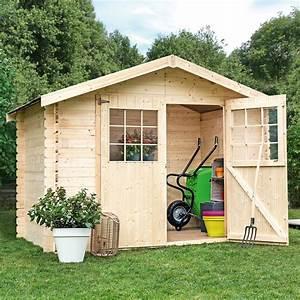 Abri De Jardin 5m2 Bois : cabane de jardin 5m2 ~ Dallasstarsshop.com Idées de Décoration