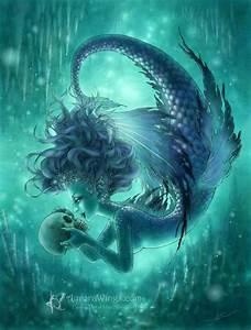 "Aurora Wings - Fantasy Art of Mitzi: ""Secret Kisses"" Complete"