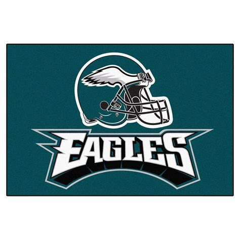 philadelphia eagles rug fanmats philadelphia eagles 19 in x 30 in accent rug