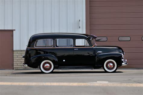 1952 Gmc Wagon 2 Door Black Classic Old Vintage Usa