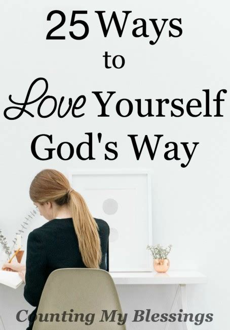 25 Of The Best Ways To Love Yourself God's Way