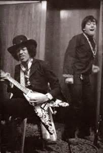 Eric Burdon and Jimi Hendrix