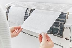 3m Electrostatic Air Purifying Filter For Split Acs  White