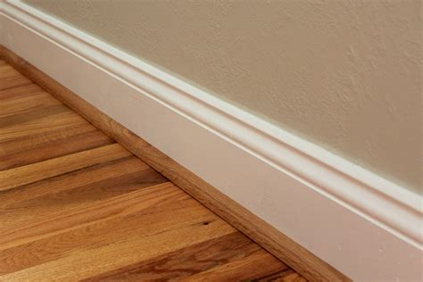 Quarter Round (almost done with the baseboard project