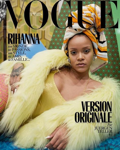 Rihanna Covers THREE Issues Of Vogue Paris - That Grape Juice