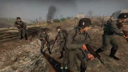 Ss Waffen 17th Panzergrenadier Division Soldiers Gotz