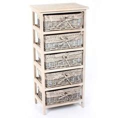 living verona wicker chest  drawer bathroom