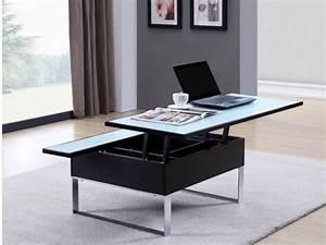 Table Basse Vente Unique : table basse relevable vente unique ~ Nature-et-papiers.com Idées de Décoration