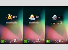 Best Android Clock and Weather Widgets November 2013