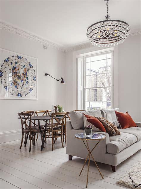london family home refurbishment mixing  scandinavian