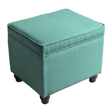 turquoise ottoman turquoise weston storage ottoman everything turquoise