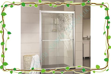 Bathroom Sliding Guardian Glass Shower Door Parts