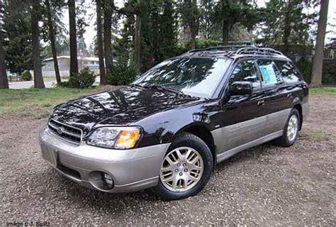 A 2002 Subaru Outback Vdc Station Wagon Photos And Specs