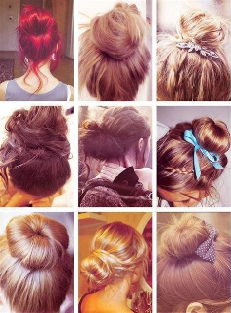 Different Types Of Hair by Bun On