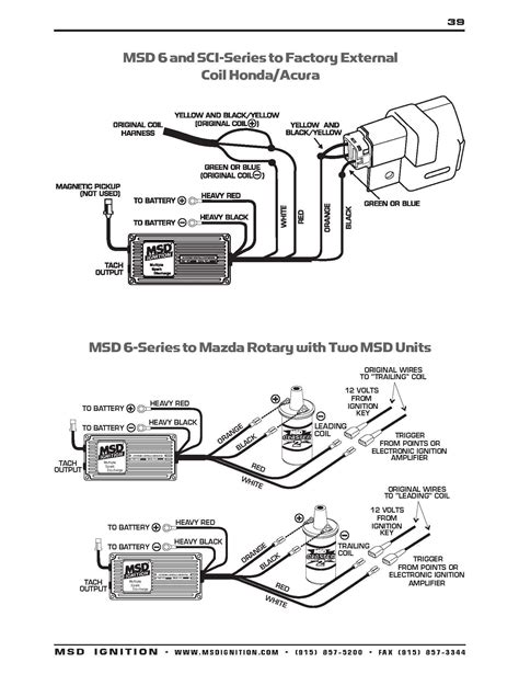 Msd Wiring Diagram Schematic by Points To Msd 7al 2 Wiring Diagram Auto Electrical