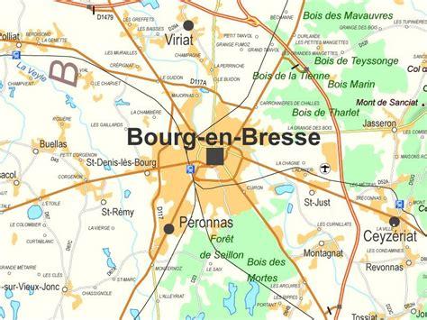 bourg en bresse maps