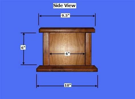 wood cremation urn box plans   build wood cremation urns build  bar pinterest