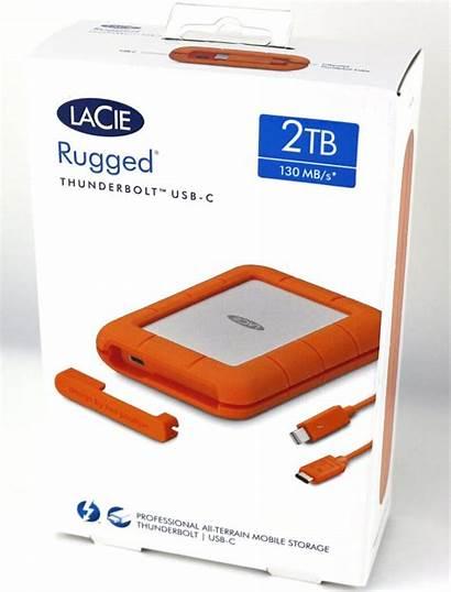 Rugged Lacie 2tb Usb Portable Thunderbolt Hdd