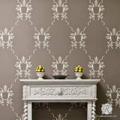 wall stencil designs classic italian wall stencils for diy room makeover