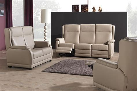 canape 3 places 2 places mailleux canapé beige 3 places relax photo 10 20