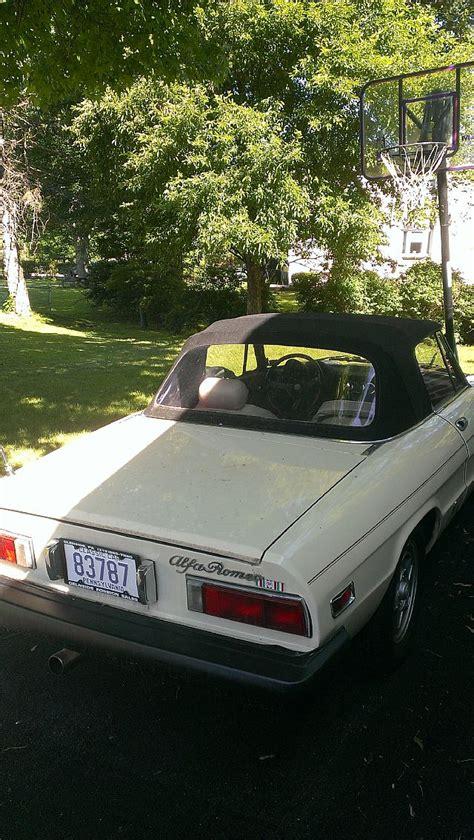 1979 Alfa Romeo Spider For Sale Southampton, Pennsylvania