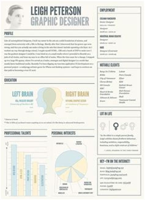 1000 images about cool resumes on resume