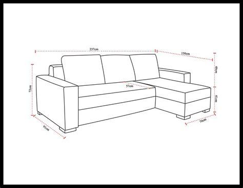 canapé dimension dimensions de votre canapé d 39 angle convertible